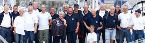 Flottille 2018 bei bestem Wind und Sommerwetter