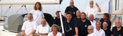 Flottille segelt mit fünf Schiffen rund Usedom und bis nach Polen