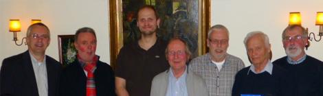 Acht Mitglieder seit 25 Jahren im Segelverein Soltau